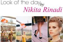 Look of the day : Love is in the air ! / You bought an sensational outfit, but dont know how to accessorize it ? Introducing a new project with fashion icons who teaches you to become more stylish and refined, making the correct combination! Choose Nikita Rinadi, be on high! Shop online : www.nikitarinadi.com