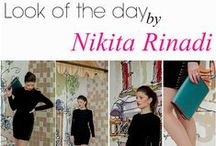 Look of the day : Femme Fatale / You bought an sensational outfit, but dont know how to accessorize it ? Introducing a new project with fashion icons who teaches you to become more stylish and refined, making the correct combination! Choose Nikita Rinadi, be on high! Shop online : www.nikitarinadi.com