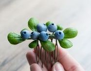 diy / creative ideas with nature objects, miniatures, dolls, fantasy and gothic