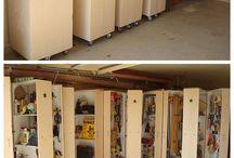 Hobbyrom og garage