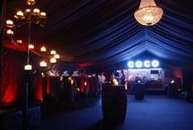 Ideas for Marquee events / Ideas for dressing marquees for weddings, parties and events. All images are our own.