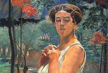 Jacek Malczewski / Jacek Malczewski (né le 15 juillet 1854 à Radom, mort le 8 octobre 1929 à Cracovie) était un peintre polonais, un important représentant du symbolisme au XIXe siècle et XXe siècle.