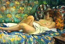 Henri Lebasque / Henri Lebasque, né à Champigné le 25 septembre 1865 et mort au Cannet le 7 août 1937, est un peintre post-impressionniste français.