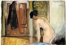 Edvard Munch / Edvard Munch, né le 12 décembre 1863 à Ådalsbruk et mort le 23 janvier 1944 à Oslo, est un peintre et graveur expressionniste norvégien. Edvard Munch peut être considéré comme le pionnier de l'expressionnisme dans la peinture moderne