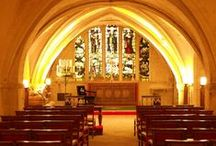 Church Venues / Ideas and examples of decorations by Stressfreehire for events and weddings at various Church venues across the UK. With the exception of the inspiration images, all images are our own.