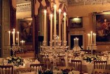 Ideas for Castles, Stately Homes & Palaces / Ideas and examples of decorations by Stressfreehire for events and weddings at various Castles, Stately Homes and Palaces across the UK.