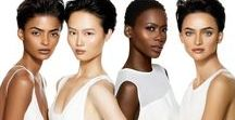 Beauty | Models of IMAN / #BehindTheBeauty of IMAN Cosmetics models- Nadine from Puerto Rico, Kaone from Botswana, Celia from Brazil and Samantha from China.