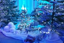 Ideas for Christmas Parties & Events / Ideas and examples of decorations by Stressfreehire for events at Christmas time.