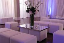 Ideas for Club Chic Events / Ideas and examples of decorations by Stressfreehire for events with a club chic theme.