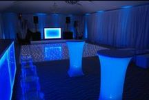 Ideas for Contemporary Events / Ideas and examples of decorations by Stressfreehire for events with a contemporary cool theme.