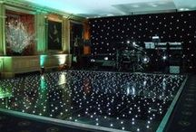 Ideas for Dance Areas / Ideas and examples of dance areas created by Stressfreehire at a range of events and weddings across the UK.