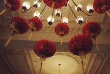 Ideas for Far East Themed Events / Ideas and examples of decorations by Stressfreehire for eastern themed events.