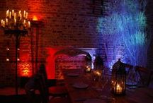 Ideas for Fire and Ice Themed Events / Ideas and examples of decorations by Stressfreehire for events with a fire & ice theme