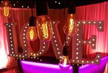 Ideas for Love & Valentines Themed Events / Ideas and examples of decorations by Stressfreehire for events with a love / Valentines day theme.