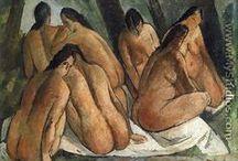André Derain / André Derain, né le 17 juin 1880 à Chatou et mort le 8 septembre 1954 à Garches, est un peintre français et l'un des fondateurs du fauvisme.