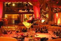 Ideas for Moulin Rouge Themed Events / Ideas and examples of decorations and theming by Stressfreehire for events with a Moulin Rouge theme.