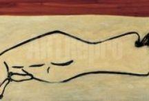 Sanyu / Sanyu (常玉) est un peintre franco-chinois né le 14 octobre 1901 à Nanchong, dans le Sichuan, et mort en 1966. Il s'est installé à Montparnasse dans les années 1920. Il fait des études en France et devient l'ami de Henri Matisse. Il est enterré au cimetière de Pantin (93).