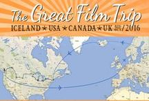 The Great Film Trip 2016 / In August, Fangirl Quest is heading on another legendary roadtrip. During the 8 weeks of traveling we'll be visiting filming locations in Iceland, USA and Canada, attending various exciting events and checking out various wonders of nature and those made by man.   www.fangirlquest.com  #travel #geeky #movies
