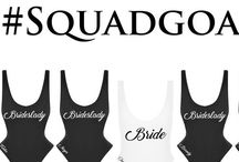 Skimpy Girl Club / Customize the ultimate Girl Club suits to represent your clique! Choose from our Classic Skimpy One Piece or our Signature Skimpy Two Piece Bikini. Perfect for a Bridal Entourage, Special Ladies Trip, Sorority Sisters or for any of your #SquadGoals to stand out in a crowd! Each Skimpy can be personalized with a uniform heat transferred statement graphic and or custom embroidery so each Skimpy is extra special. #GirlSquad #Wedding #BridesmaidSwimsuit #SororitySwimsuit #BestFriendsSwimsuit #Bachelorette #WeddingEntourage #GirlClub #Custom #OnePieceSwimsuit #Bikini