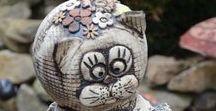 Keramika - kočky