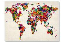 Around the World / by Laura Valenzuela
