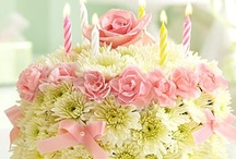 Happy Birthday~♪ / Cakes, Presents, Flowers, Message Cards, Happy gifts