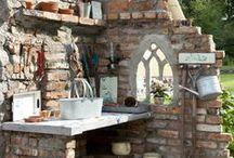 garden,porches,outdoor living. / garden ideas / by Charletta Beath
