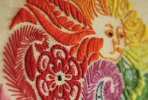 embroidery, kirjonta