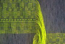 weave, kudonta, nauhat ym