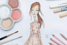 illustration Ivona Knechtlova / Illutrations & drawings