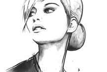 fashion illustration / Illustration, drawing, fashion