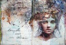 sketchbook inspiration / art, sketchbook, moleskine