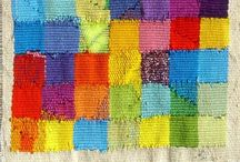rug, wall hanging, textile, ryijy, seinävaatteet