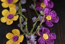 jewelry crochet, virkattu koru