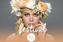 Festival Season 2015 / From Coachella to Lollapalooza, we've got your fun, festival fashion and beauty covered