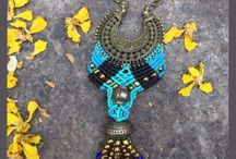 macrame jewelry neckless 2