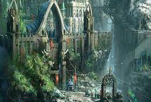 Sci-fi & Fantasy Worlds