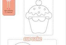 Applique: Cupcake