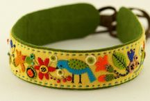 jewelry embroidery, kirjailtu koru