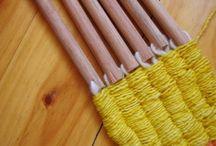 weave, stick weaving, tappi kangaspuut / Tappi kangaspuut