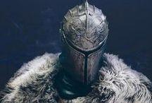 armor, knights, warriors