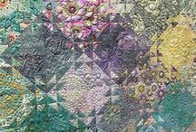 Quilt Watercolor & Bargello