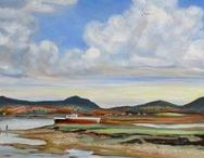 Owen Harris - Land and Sea / Proudly presenting Owen Harris' expertly painted landscapes and maritime paintings. Exclusive to Mud Island Art.