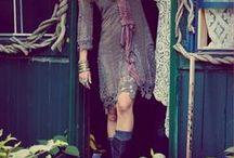 boho style / by Tina Hedin