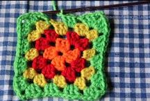 My Dream Quilt ~ Granny Squares / Granny square ideas I'm planning to use to make my quilt.