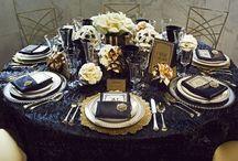 G+S Sep 2015 / Gatsby style wedding