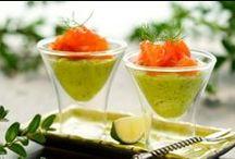 Les verrines diététiques / De petites choses au si bon goût, à consommer sans vergogne!