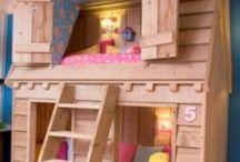 Kinderkamers / Ideeën om de kinderkamer in te richten