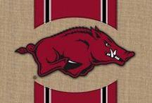 Hog Fan's Paradise / Everything an Arkansas Razorback fan could need.
