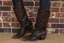 Boots We Love / Cowboy boot, riding boots, ankle boots, sheepskin boots, moccasin boots... all of our favorites.